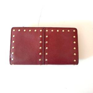 Michael Kors Studded Leather Wallet